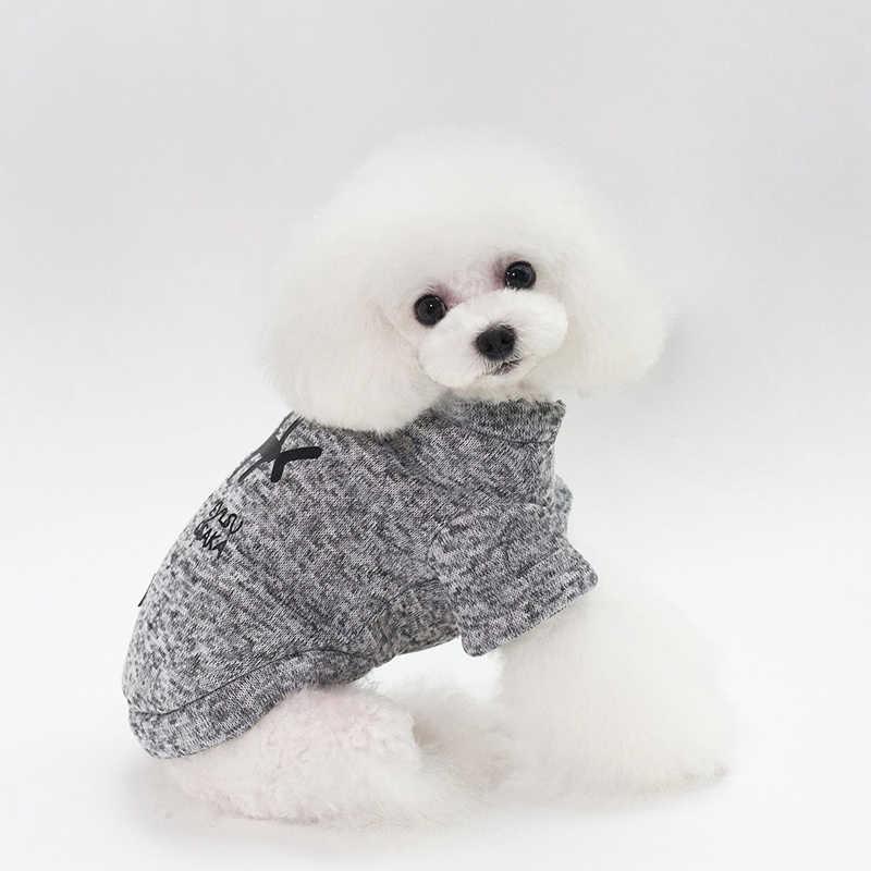Pet Vestiti Del Cane Carino Lisca di Pesce del Cucciolo del Gatto Del Maglione Del Cappotto Per Cani di Piccola Taglia Chihuahua Pug Abbigliamento Inverno Caldo Pet Outfit
