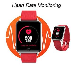 Image 2 - 스마트 스포츠 시계 m21 심장 박동 팔찌 혈압 수면 모니터 피트니스 트래커 방수 안드로이드 ios 컬러 스크린 밴드