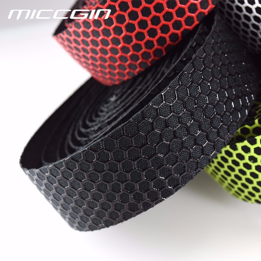MICCGIN Bicycle Handlebar Tape Road Bike Silica Gel Tape Soft Breathable Bike Handlebar Tape MTB Fixed Gear Belt nuckily r007 bike bicycle pu handlebar tape belt wrap white page 5 page 3
