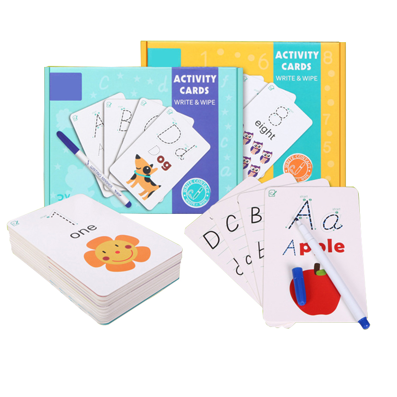 Magenta Repeatable Writing Flash Card Cognitive Puzzle Cards Water Painting Graffiti Drawing Board Colouring Painting board Toy