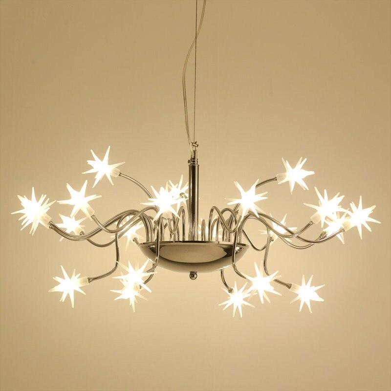 Starry Sky LED Pendant Light Modern LED Lamp Starlight Ice Flower Romantic Beauty Boys Girls Children Room Pendant Lighting G507