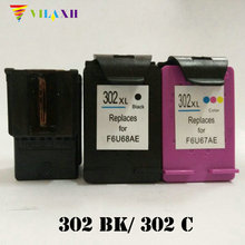 For HP 302 Ink Cartridge for 302xl Deskjet 2130 1110 1115 2134 2135 Envy 4520 3630 NS45 Printer