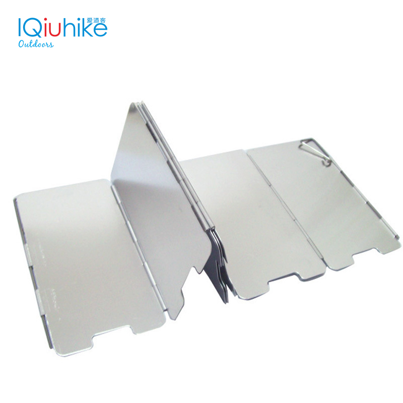9 Plates Wind Deflectors Foldable Outdoor Camping Gas Stove Wind Shield`Screebw