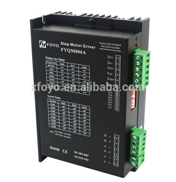 Subdivision stepping motor driver (two-phase) - FYQM806T