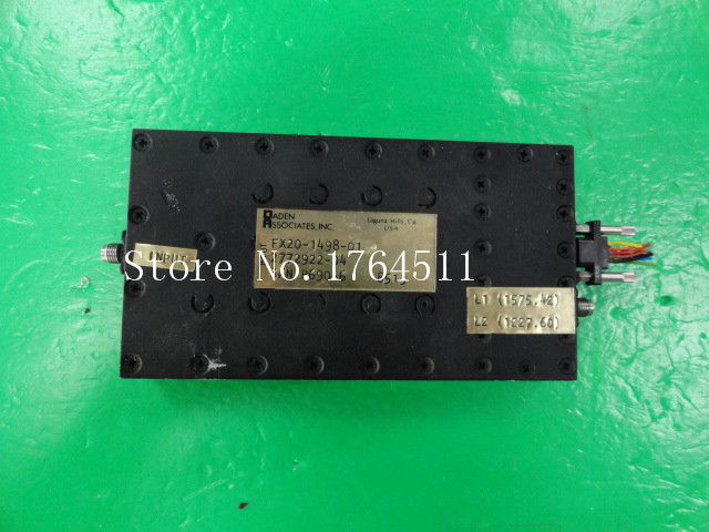 BELLA DADEN ASSOCIATES FX20 1498 01 RF Electronic Phase Shifter SMA