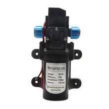 Bomba autocebante de agua con diafragma de alta presión, Motor DC12V 80W 0142, 5,5 l/Min, envío directo