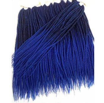 30roots 14 16 18 20 22 Senegalese Twist Crochet Braid Hair Extensions Ombre Kanekalon Synthetic Braiding Hair aigemei crochet hair extension curly senegalese twist braid synthetic braiding hair 18 inch