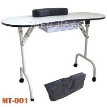 Многофункциональный складной специальный стол для ногтей портативный складной стол для маникюра Многофункциональный красота маникюрный столик 1 шт