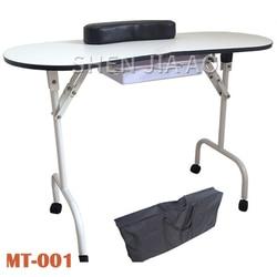 متعددة الوظائف للطي طاولة أظافر خاصة المحمولة للطي طاولة طلاء الأظافر متعددة الوظائف الجمال طاولة مانيكير 1 قطعة