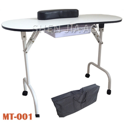 Multi-function Folding Special Nail Table Portable Folding Nail Manicure Table Multifunction Beauty Manicure Table 1PC