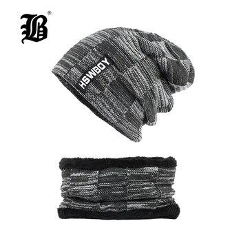 abae82b375b  FLB  Winter Hats Skullies Beanies Hat Winter Beanies For Men Women Wool  Scarf Caps Balaclava Mask Gorras Bonnet Knitted F18002