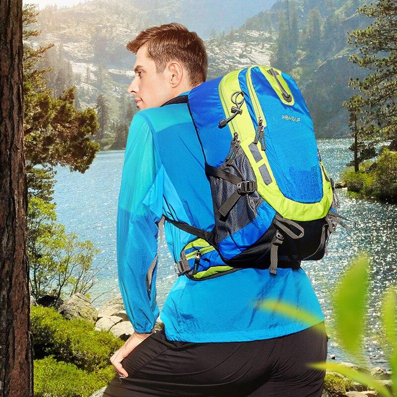 Hewolf 30L спортивная сумка дорожная Пеший туризм походы Велоспорт Альпинизм рюкзак Водонепроницаемый Восхождение сумка