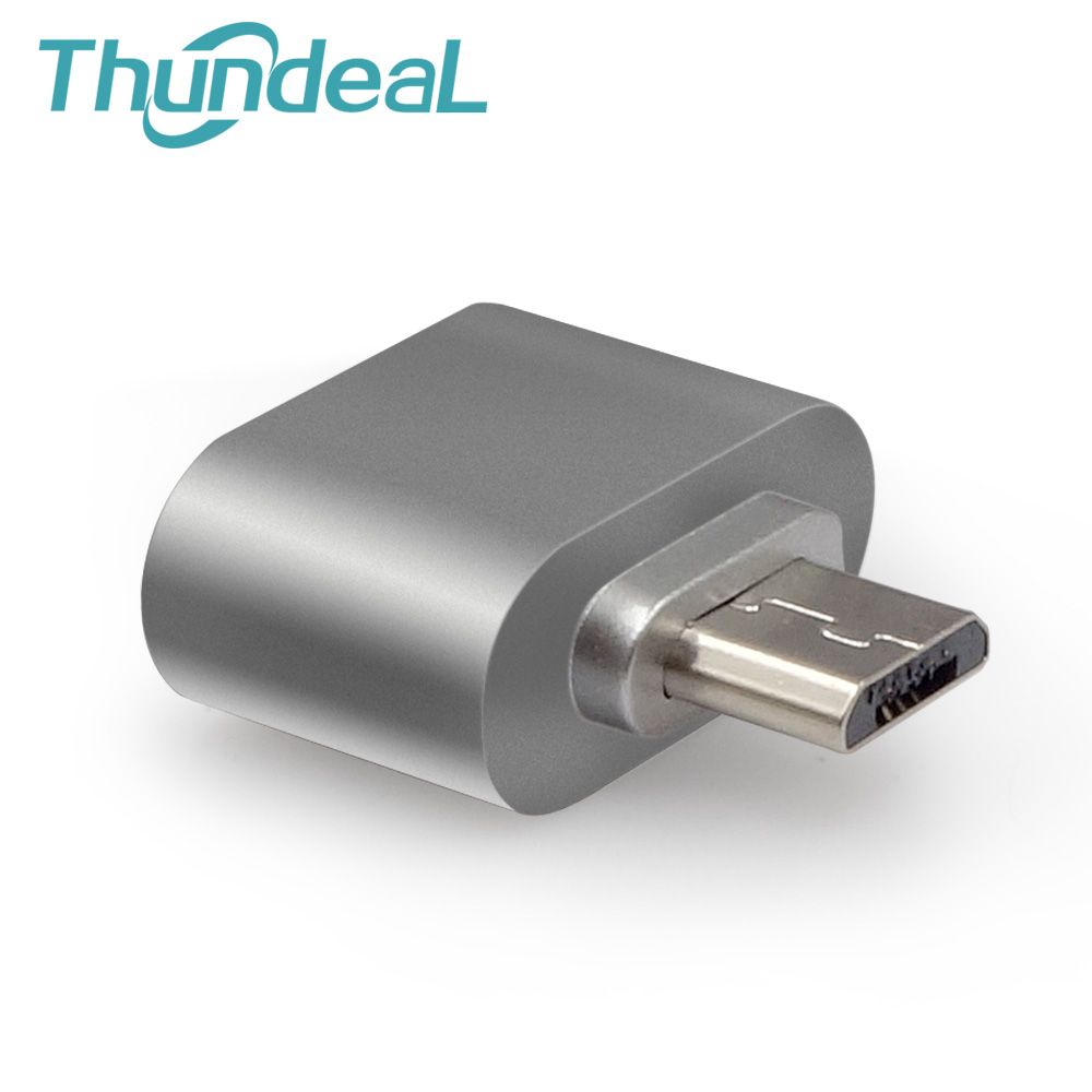 ThundeaL USB Adapter Micro USB To USB 2.0 Converter OTG Adapter for Samsung Galaxy Sony LG Tablet PC Android Hug Converter