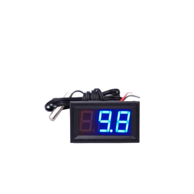 12V LCD Digital Thermometer Monitor Tester  3
