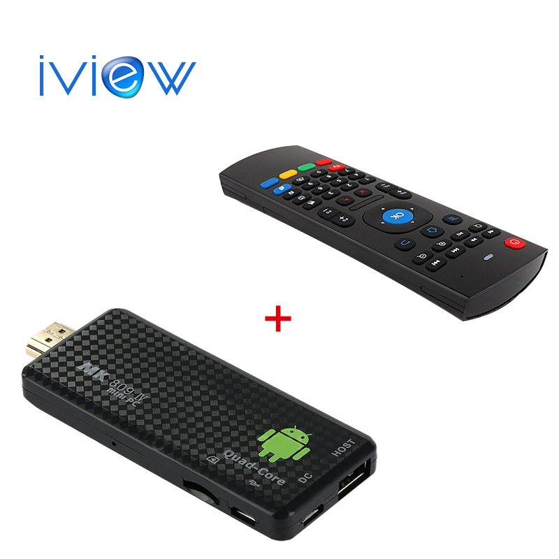 In Stock MK809IV Mini PC+MXIII M /T2 Air mouse Android 4.4 TV Dongle Quad Core RK3188T 2G/8G XBMC Bluetooth 4.0 DLNA tv stick