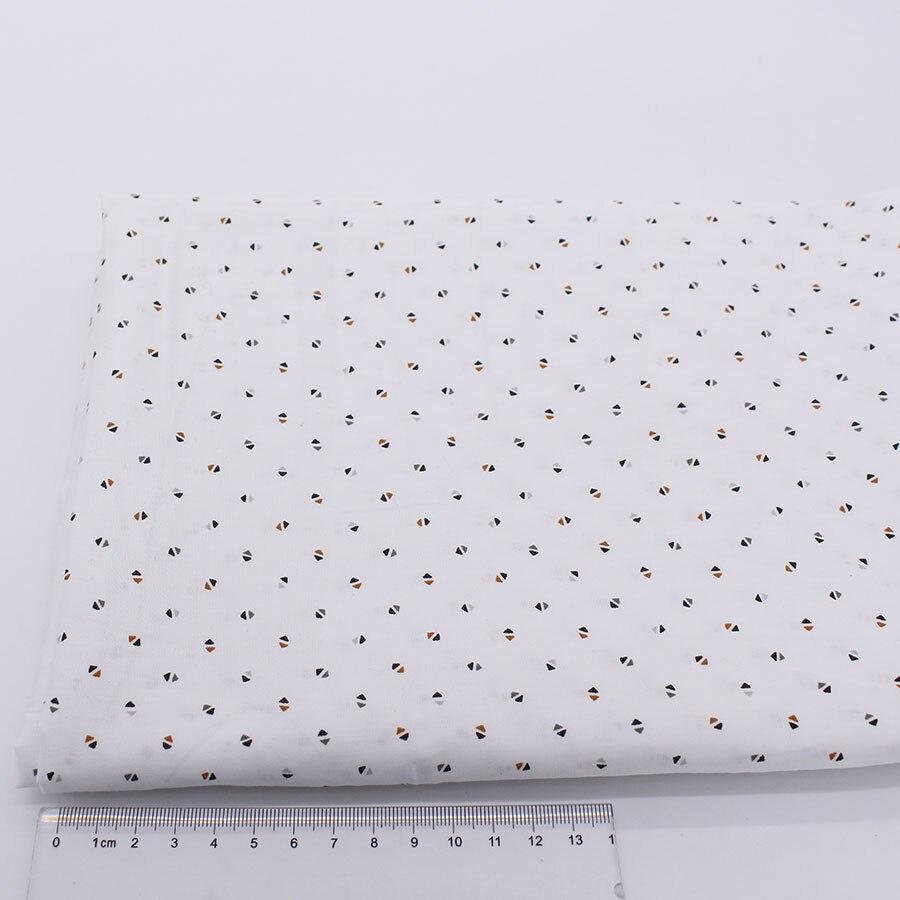 Triangular Impresión Camisa de Vestir de Algodón Paño de Tela Tilda Coser Telas