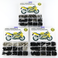 Motorcycle Full Fairing Bolts Kits Clips Steel With OEM Style For Honda CBR 600RR CBR600RR F4 1999-2007 F4i 2004-2007 aftermarket free shipping motorcycle partsspike fairing bolts for 1999 2000 cbr 600 f4 2001 2007 cbr600 f4i silver