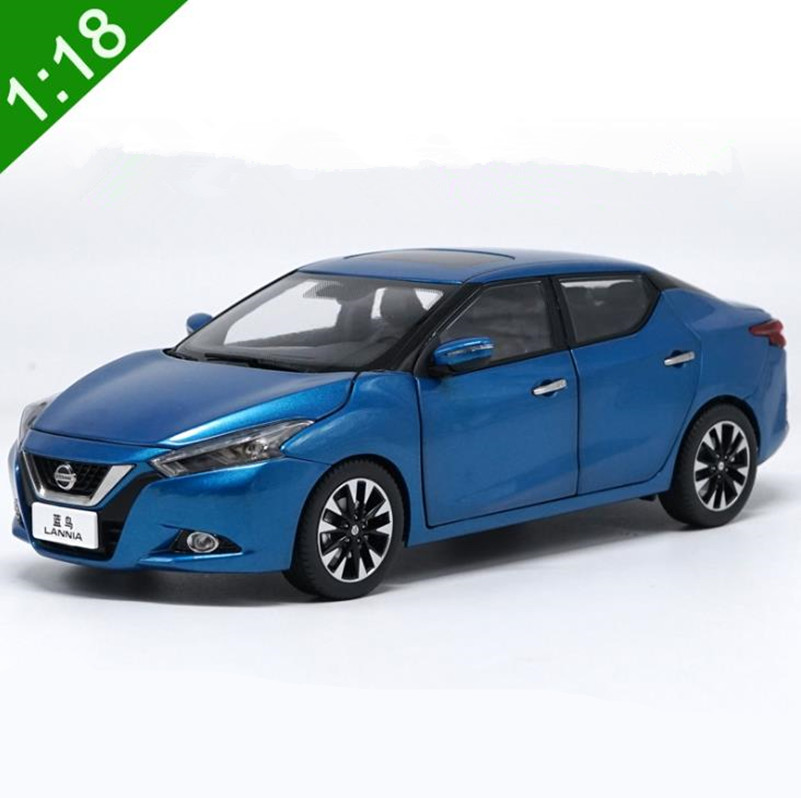 Original Advanced collection model,High simulation <font><b>NISSAN</b></font> LANNIA,<font><b>1:18</b></font> alloy <font><b>car</b></font> toy,<font><b>diecast</b></font> metal vehicle,free shipping image