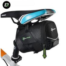 ROCKBROS Bicycle Bag With Lid Folding Bike Saddle Bag For A Bicycle Nylon Cycling Rear Seatpost Tail Pouch MTB Bike Accessories цена
