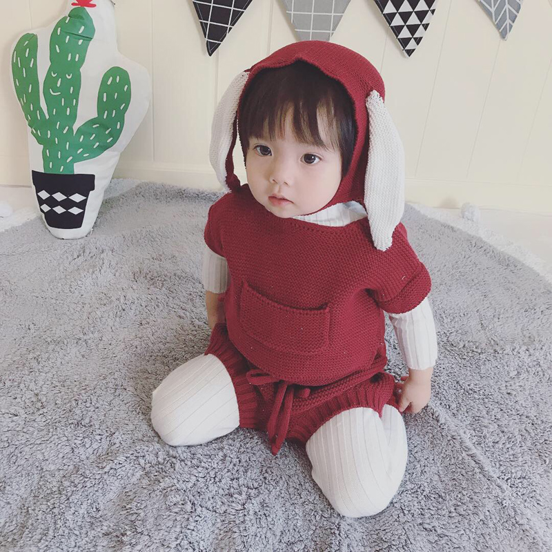 MILANCEL New Baby Clothing Set Knit Baby Girls Clothes ... Korean Toddler Clothes