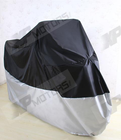Motorcycle Waterproof Cover Fits For For Harley-Davidson Softail Fatboy FLSTF FLSTN Sportster  265*105*125cm