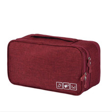 Travel Bags Luggage For Women Waterproof Storage Bag Organizer Packing Cubes Weekend Portable Bra Underwear Pouch