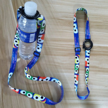 Water Bottle Strap Shoulder Beverage Buckle Portable Back Lanyard Cup Accessories