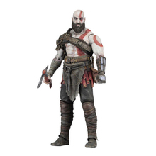 Neca God of War 4 Kratos PVC Toys Action Figure FIGURINE Collectible Model Statue Toy Gift 7inch государственная символика синяя