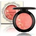 Hotwomen MIVAGIRL bochecha cozido cores de Blush Blush maquiagem Blush Baked Palette 8TT9
