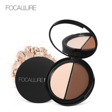 FOCALLURE Face  Bronzer Makeup Powder and Highlighter Palette Brighten Contour Comestic