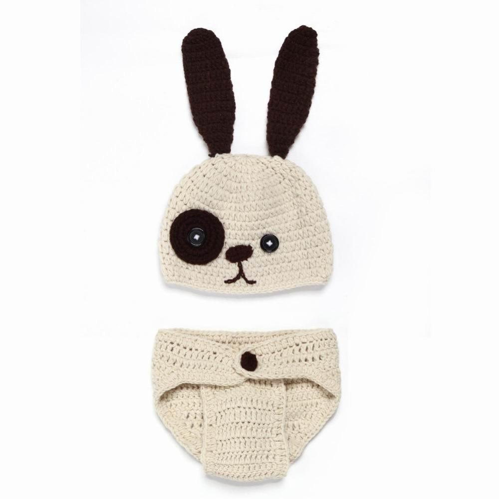 Ovejas perro disfraz de conejo casquillo recién nacido del bebé de ...