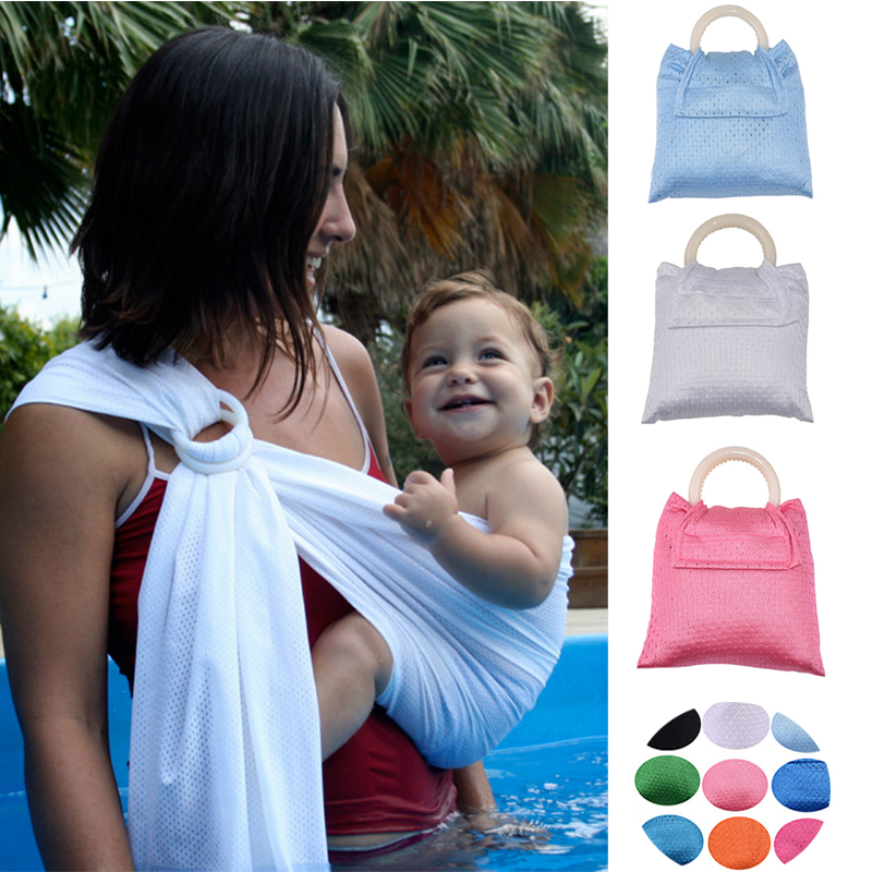 Breathable Baby Sling Baby Carrier Quick Dry Soft Wrap Summer Water Sling Slip Resistance Hipseat Breastfeed Nursing Cover 04
