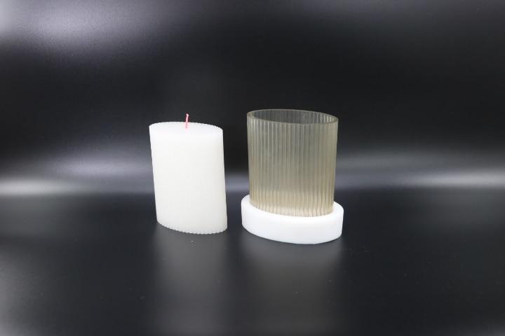 stampo a forma di candela per candele fai-da-te stampi per candele fatti in casa fatti a mano Stampo per candele fai-da-te