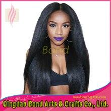 7A grade straight brazilian human hair full lace wig silky straight human full lace wig with baby hair for women 130% density