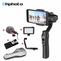Zhiyun Smooth Q Handheld 3 Axis Gimbal Stabilizer Built In Battery For Gopro 5 4 3