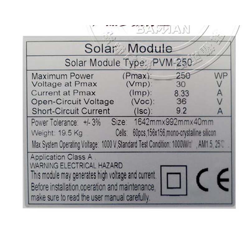 Solar Panel 250W 20v 4 Pcs Lot Placa Solar 1000W 1KW Battery Charger Solar Home System Marine Yacht Boat Motorhome Caravan in Solar Cells from Consumer Electronics