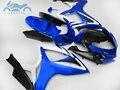 Пользовательские инъекции обтекателя наборы для Suzuki GSXR 600 06 07 K6 GSXR600 750 рынок запчастей АБС спортивные Обтекатели GSXR750 2006 2007 синий