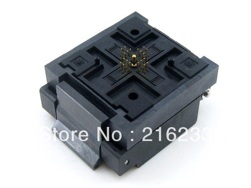 module QFN20 MLP20 MLF20 QFN-20B-0.5-01 QFN Enplas IC Test Burn-in Socket Programming Adapter 4x4mm 0.5Pitch + Free Shipping qfn20 to dip20 mlf20 mlp20 plastronics qfn ic programming adapter test burn in socket 4 4 mm 0 5 pitch free shipping