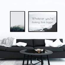 ZeroC Nordic Landscape Canvas Art Print Poster, Quote Wall Paintings for Living Room Decoration Forest Art Picture Home Decor zeroc japanese ink canvas art print poster zen wall paintings for living room decoration home decor
