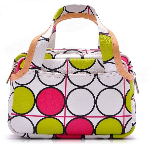wholesale  2011 NEW arrival fashion handbags Cosmetic Bag  fine storage bag makeup bag multi function bags