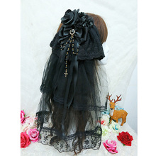 Gothic Lolita Headpiece W. Veil