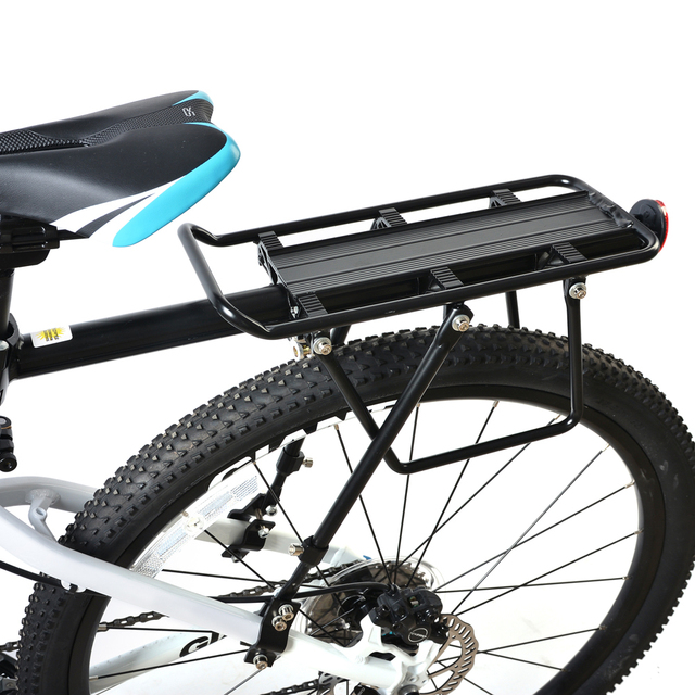 Rockbros Bike Rear Rack Carry Carrier Seatpost Bicycle Mount Max