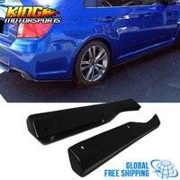 Подходит для 11 14 Subaru Impreza WRX STI HT Стиль сзади губы Фартук ПУ глобальной Бесплатная доставка по всему миру