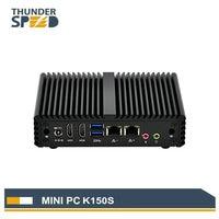 Low Cost Industrial PC Computer Server Intel CPU N3150 Mini PC TV BOX HDMI DUAL LAN Pfsense VPN Router Linux