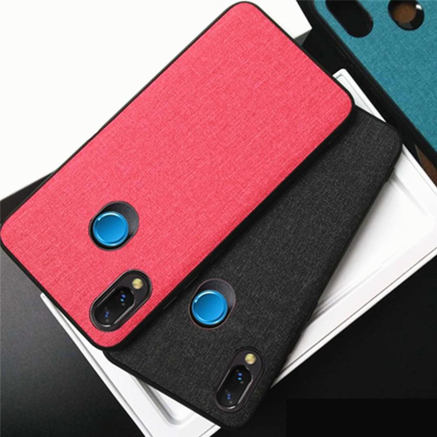 Caso para Huawei Y9 2019 Desfrutar 9 Mais tampa traseira borda da tela de silicone caso Capa Para Huawei Y9 coque 2019 Y 9 Y92019