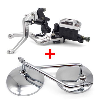 Motorcycle Brake Clutch Hydraulic Lever motorcycle mirror For bmw g310gs r1100rt gs k1200s f 650 gs f800gs adventure c600 sport image