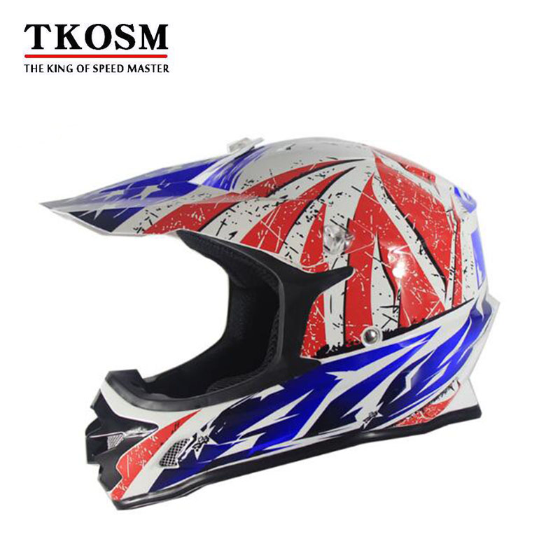 Tkosm мотоциклетный шлем мужские мото шлем Capacete Мотокросс Off Road Мотокросс крест шлем Dot