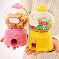LS4G Bonito Doces Mini Máquina de Doces Máquina de Chicletes Bolha Dispenser Coin Bank Toy Kids Presente Das Crianças