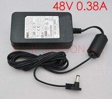 20 PCS alta qualidade 48 V 0.38A Original Adaptador AC Fonte De Alimentação para cisco CP PWR CUBE 3 PSA18U 480 341 0081 02 Free Shopping