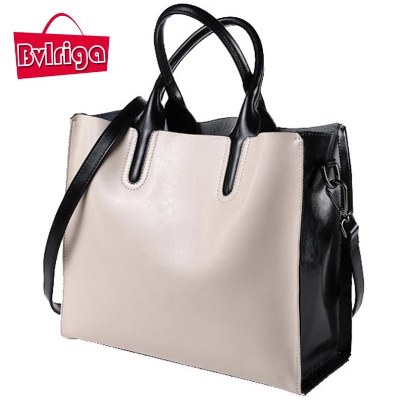 Prix pour BVLRIGA 100% véritable sac en cuir designer sacs à main de haute qualité Dollar prix épaule sac femmes sacs messenger célèbre marques